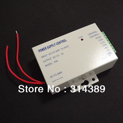 Free shipping! Access controller power supplier,12VDC 3A output,110-240VAC input<br><br>Aliexpress