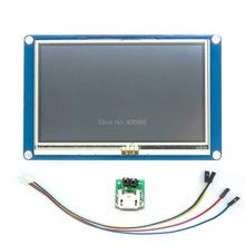 "DIYmall English Version Nextion 5.0"" HMI Intelligent Nextion LCD Module Display for Arduino TFT Raspberry Pi ESP8266(China (Mainland))"