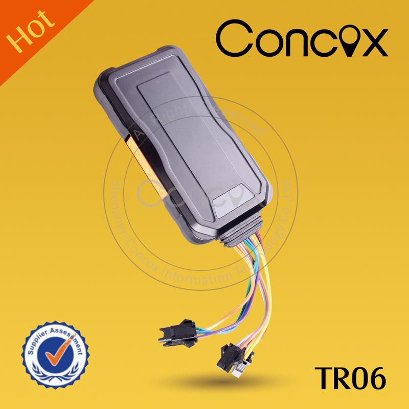 concox JIMI original relay engine cut off SOS button voice monitor Multinational TR06 Mini Portable Vehicle Tracker locator(China (Mainland))