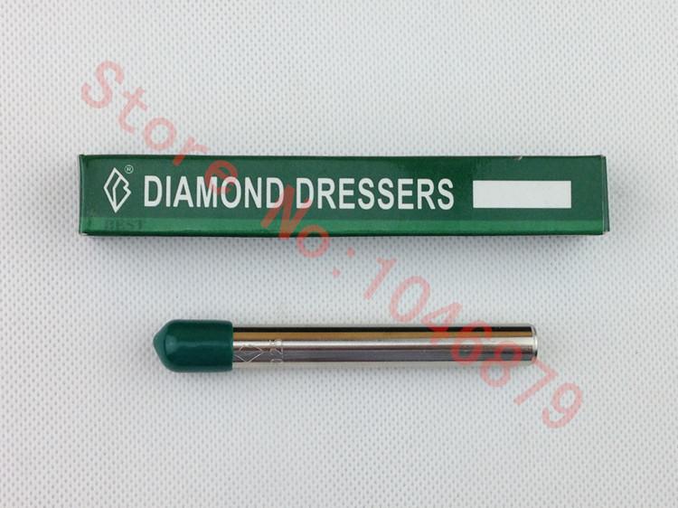 10mm Dia 80mm Length Grinding Wheel Diamond Dressing Pen Dresser Tool Head for the natural diamond