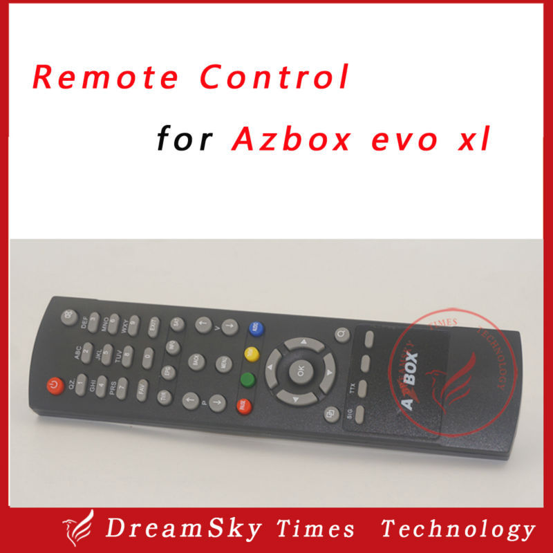 1pc Remote Control for Azbox evo xl satellite receiver,evo xl remote controller free shipping post(China (Mainland))