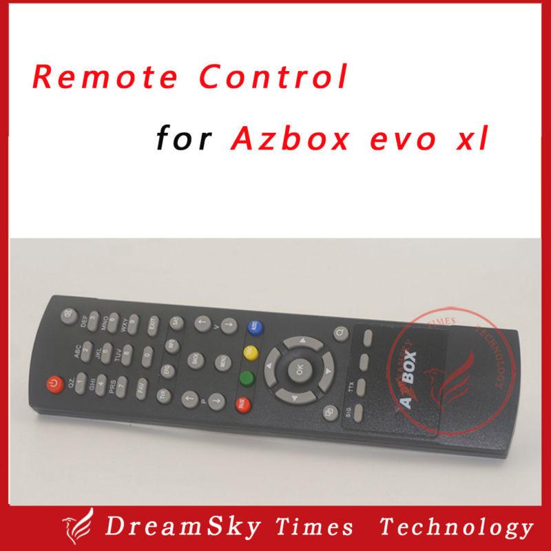 5pc Remote Control for Azbox evo xl satellite receiver,evo xl remote controller free shipping post(China (Mainland))