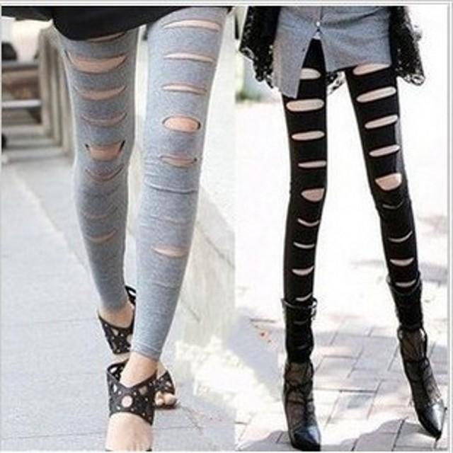 Free shipping Black Grey Women Footless Leggings,Black Hollow Out Sexy Legwear,Hotsale All Year Suitable Girls Legwear