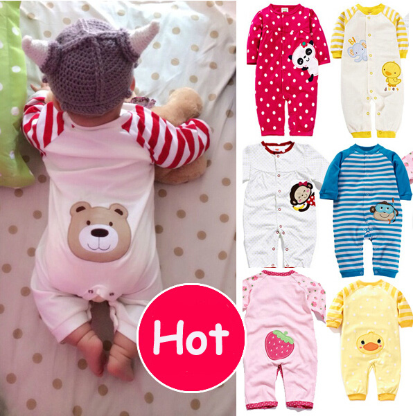 Hot sale!2015 New arrival Cotton long sleeve baby clothing monkey baby girl rompers jumper boy clothes roupas de bebe Menina(China (Mainland))