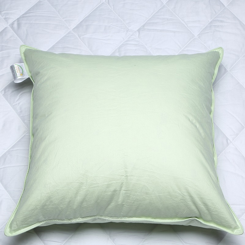 80 Washed White Goose Down 20 Feather Cushion Pad Insert 100 Downproof cotton 233TC High Quality