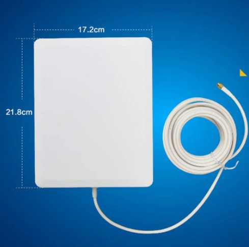 2.4G outdoor waterproof wifi antenna booster in network cards 2.4G 14dBi panel antenna in WI-FI signal booster