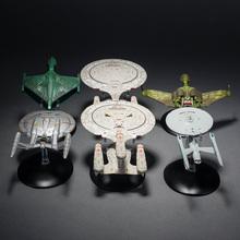 Alloy/plastic UFO spaceship model  space craft  6pcs/set(China (Mainland))