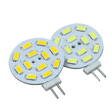 Buy Newest 1pcs/lot G4 LED Lamp Bulb 3W 12 SMD 5630/5730 Round Corn Lamp Bulbs DC12V White/Warm White Spot light Free for $1.34 in AliExpress store