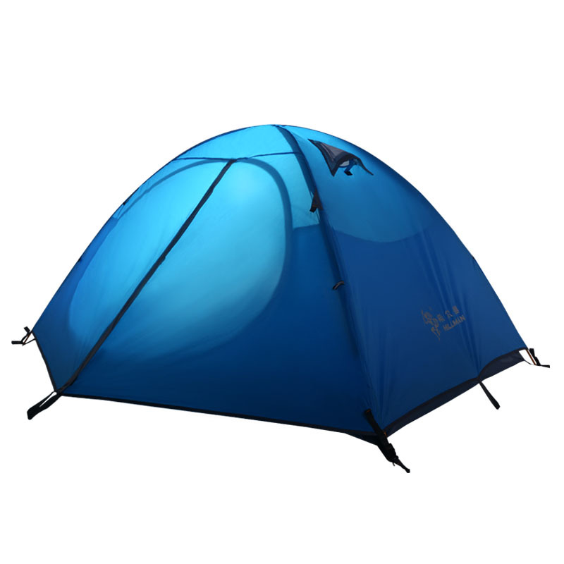Ultralight Camping tent 2-3 persons tent doublle layer 210T polyester 3 seasons carpas camping tente outdoor tents for camping(China (Mainland))
