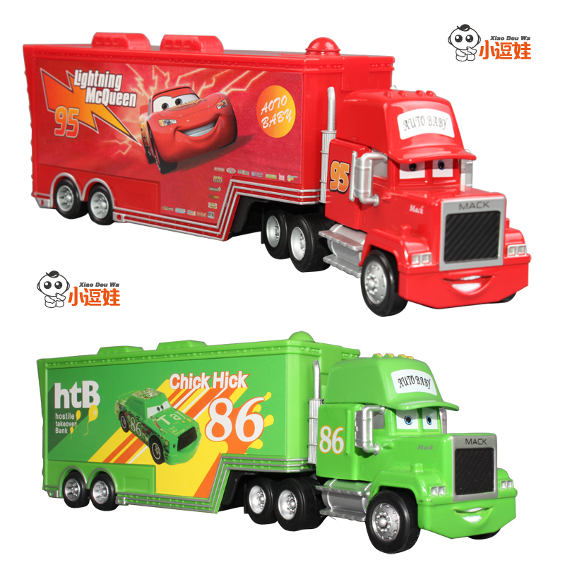 Freeshipping Stacking container transport vehicle nurserymaid car mike alloy car model toy(China (Mainland))