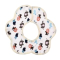 Flower Shape Newborn Baby Bibs Cotton Soft Baby Saliva Towel Infant Burp Cloths For Boy Girl