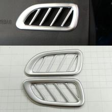 2016 Car Styling 2pcs/set ABS Dashboard Outlet Sequins Chrome Trim Decoration Chevrolet Lova RV - Elegant store