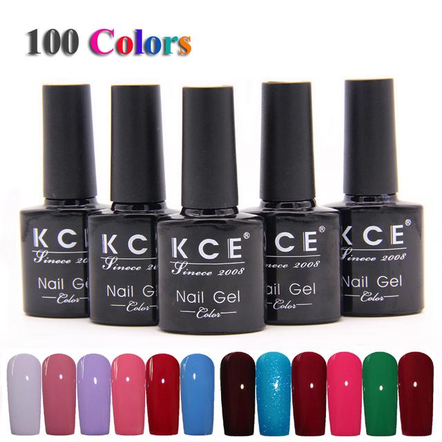 Высокое качество гель-лак UV и из светодиодов сияющий красочный 100 Цветs10ML долгое ...