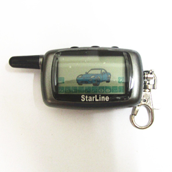 2015 New Hot same Free Shipping LCD remote controller for two way car alarm Starline A9(China (Mainland))