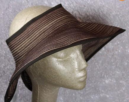 New Wide brim adjustable Women  Beach Straw Hat, No Bow  Roll up Sun Visor 12pcs/lot Free ShippingОдежда и ак�е��уары<br><br><br>Aliexpress