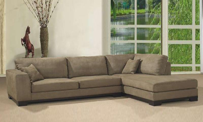 2013 Living Room Fabric sofa L shaped with detachable wash Fabric corner Sofa, best fabric for sofa F9047(China (Mainland))