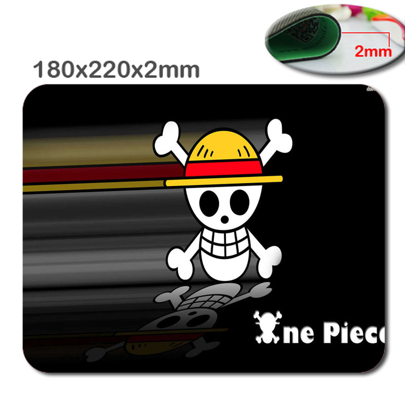 One piece skull Mouse Pad Design new Large Gaming Mouse Pad Locking Edge Rubber Mousemat For Optical Anti-slip Smooth Mice Mat(China (Mainland))