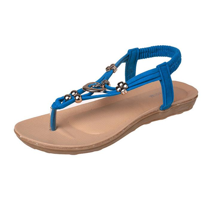 2016 summer Bohemia sandals women flat shoes sandales femme sandales sandalet dames schoenen A79<br><br>Aliexpress