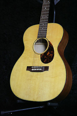 New MN SWOMGT Sustainable Wood Acoustic Guitar Cherry & Spruce Tortoise, HSC(China (Mainland))