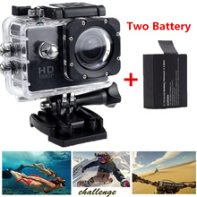 Go pro style Video Sport Digital Camera Full HD 1080P 30M waterproof 1.5inch LCD Action camera 170' wide angle+Extra battery(China (Mainland))