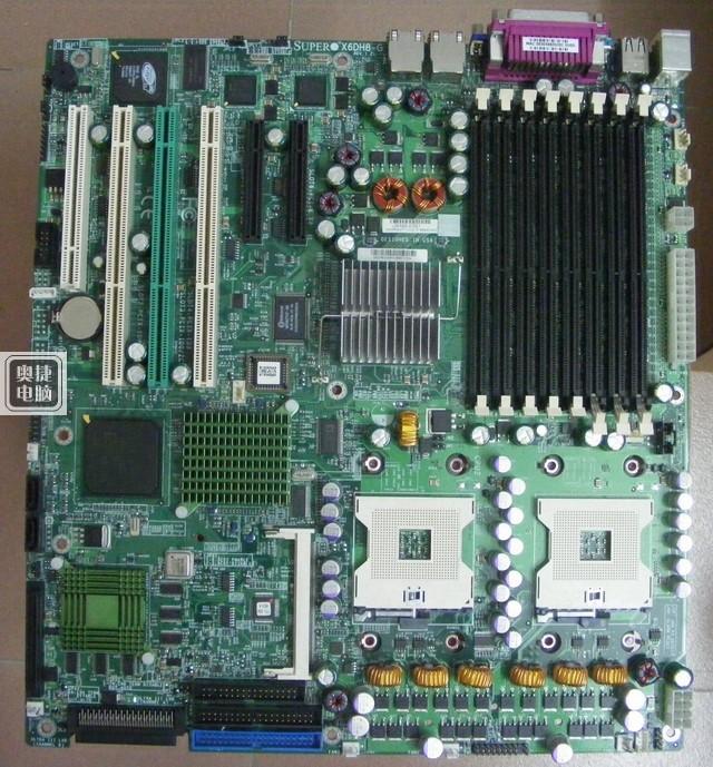 Free shipping! SUPER X6DH8-G for Intel ultra E7520 dual 604800 FSB super good spot color(China (Mainland))