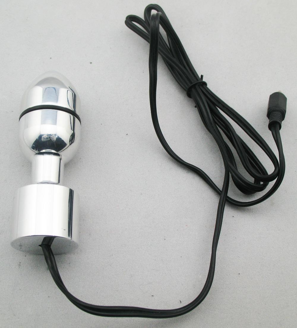 Electro Taper head anal Dildo electrical anal plug sex toy anal plug<br><br>Aliexpress
