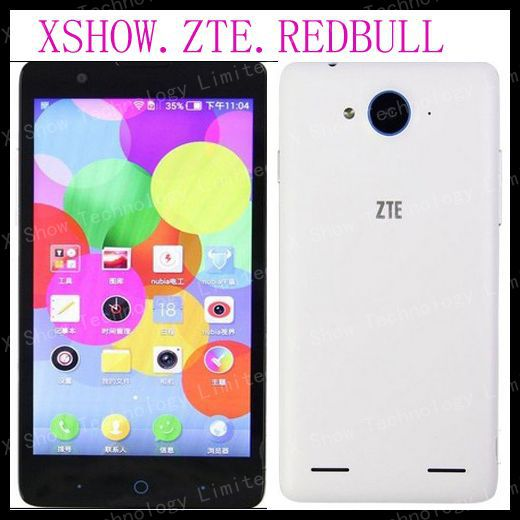 "Original ZTE V5 Nubia Red Bull WCDMA Mobile Phone MSM8926 Quad Core Android 4.2 5"" HD 1280x720 4GB ROM 13MP Camera OTG GPS(China (Mainland))"