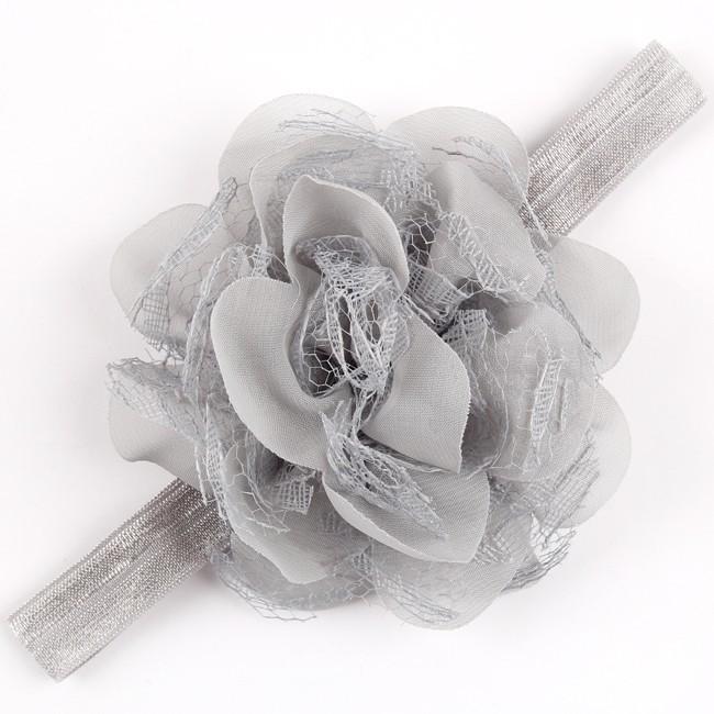 Девочки цветок ободки малышей летнее платье головные уборы дети аксессуары 2015 мода стиль горячая распродажа расширение W063