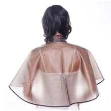 Hair Cutting Collar Magnetic Waterproof Colouring Cape Barber Cloth Hairdressing Hair Dye Gown Perm Baking Oil Cape Tool#85790(China (Mainland))