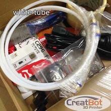 5 pcs lot 1 75mm 3 0mm Teflon Tube for CreatBot 3d printer extruder filament