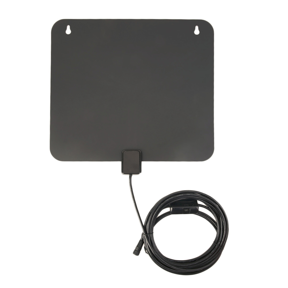 Digital TV 20-199/200-499/>500 Pcs HDTV Antenna With Amplifier 10ft and 3 ft Bulit In UL Power Adapter Receive UHF/VHF Signals(China (Mainland))