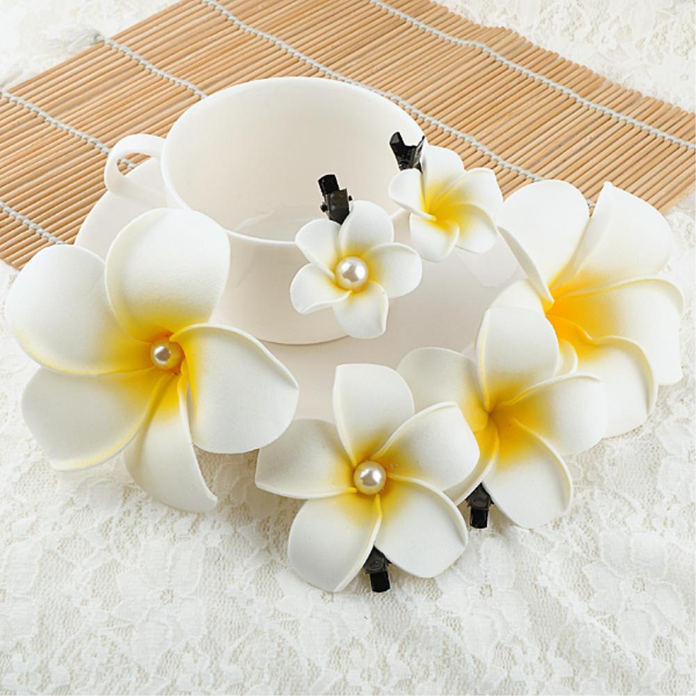Summer Flower Hair Clips Small Medium Large Size Barretteds Headwear Hair Accessories for Women(China (Mainland))