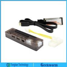 EXP Expresscard GDC Laptop External Independent Video Card w/ PCI-E 16X Interface(China (Mainland))
