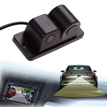 High Quality 2 in 1 Car Parking Sensors Rear View Backup Camera Universal High Clear Night Vision Reversing Radar(China (Mainland))