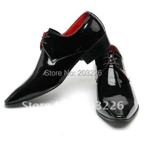 Натуральная кожа мужчины в обувь квартиры кожа офис обувь платье обувь западный марка ...
