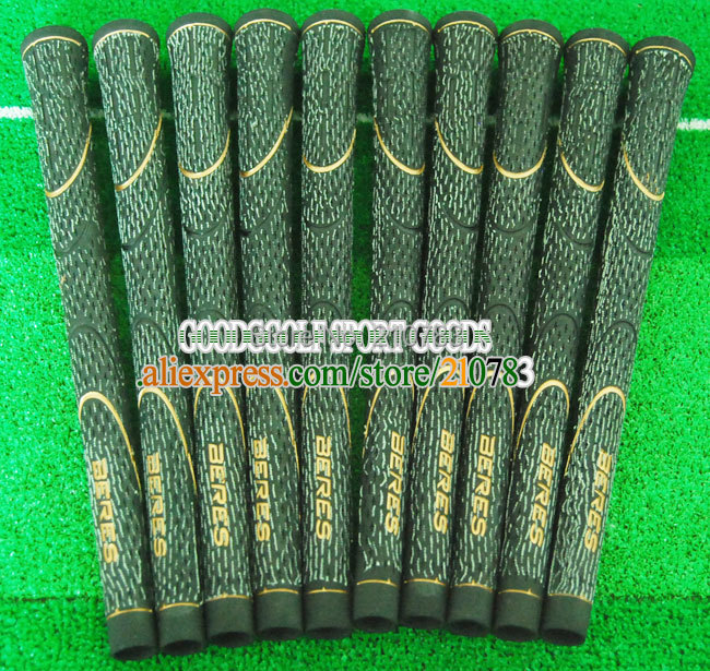 20pc/Lot New golf club Grips Hongma black Golf irons Grips,Can mix Color Grip,EMS