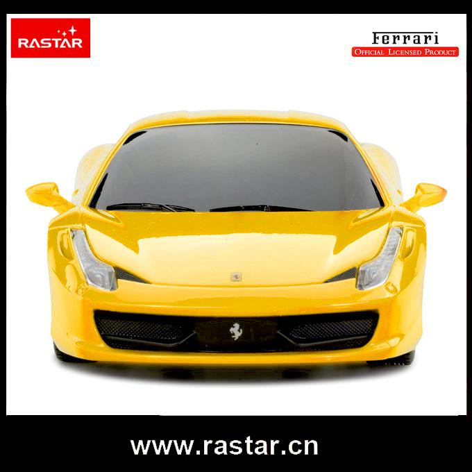 Rastar licensed Ferrari 458 Italia rc car mini 1:24 brinquedo de controle remoto 46600(China (Mainland))