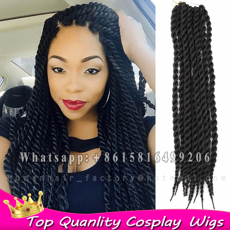 Crochet Braids Senegalese Hair : ... crochet-senegalese-twist-synthetic-hair-extensions-braiding-hair-for