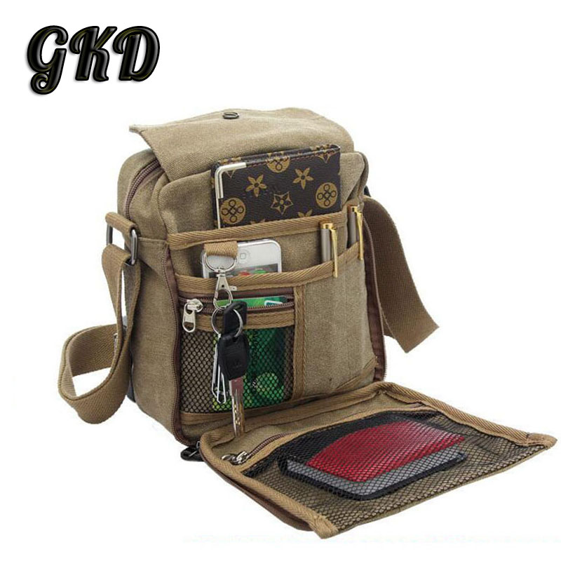 Bolsa 2015 Men's Travel Bag Canvas Men Messenger Bags Vintage Style Casual Multifunction Outdoor Shoulder Bags A8133(China (Mainland))