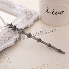Movie Necklace Creative Harry Potter Hermione Dumbledore Voldemort Magic Wand Pendent Women Men Necklace Alloy Jewelry