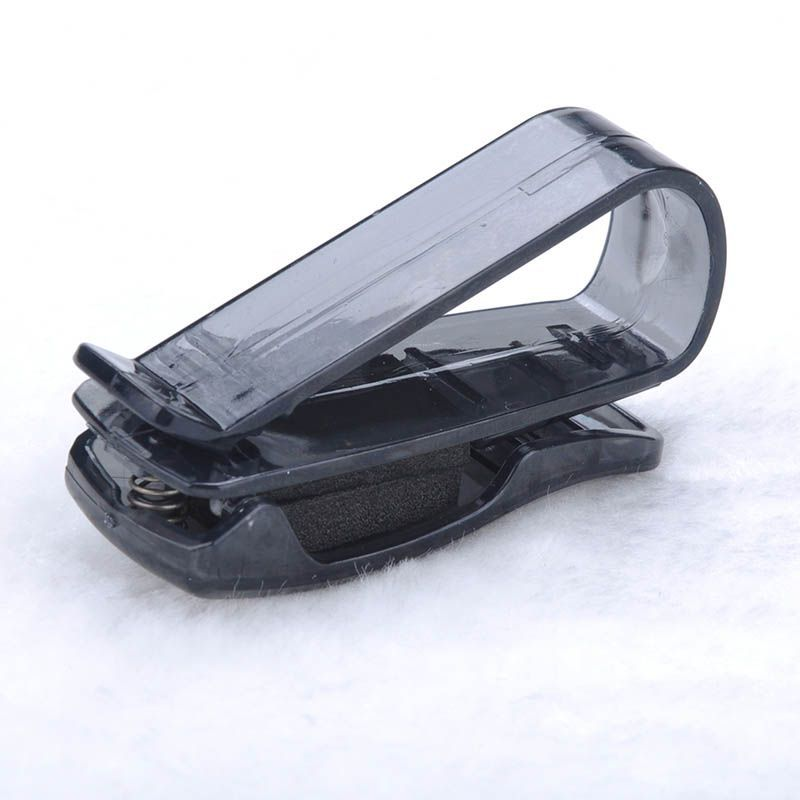 Hot Sale ABS Portable Clips Car Vehicle Sun Visor Sunglasses Eyeglasses Glasses Ticket Holder Clip Free Shipping #5(China (Mainland))