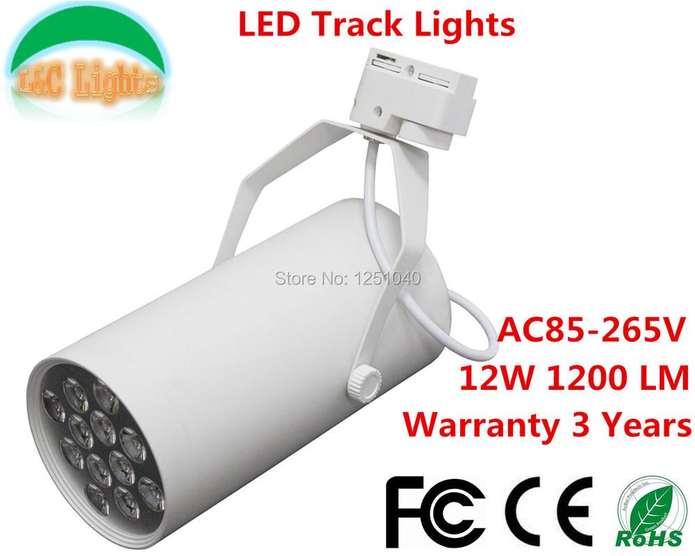 12W LED Track Lights,Showcase LED Spot light,Track Lighing,AC85-265V 1200LM CE ROHS ,Warranty 3years,4Pcs a lot<br><br>Aliexpress