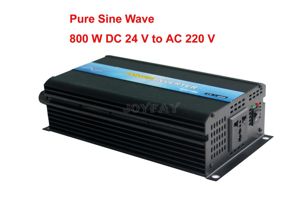 800W Pure Sine Wave DC 24V to AC 220V Power Inverter<br><br>Aliexpress
