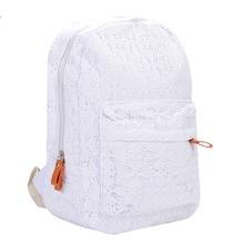 fashion lace women backpacks rucksack canvas backpack preppy school bags for teenager girls casual travel bag mochila feminina(China (Mainland))