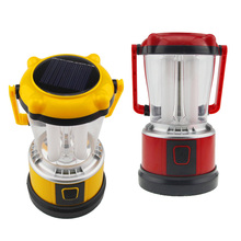 Solar Outdoor Living Tent Camping Lights LED Lantern Flashlight Emergency Light 3 Mode B2C Shop(China (Mainland))