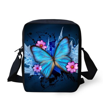 Hot sale 3D print butterfly children school bags kid mochila infantil girls schoolbag horse zoo animal baby kindergarten bookbag