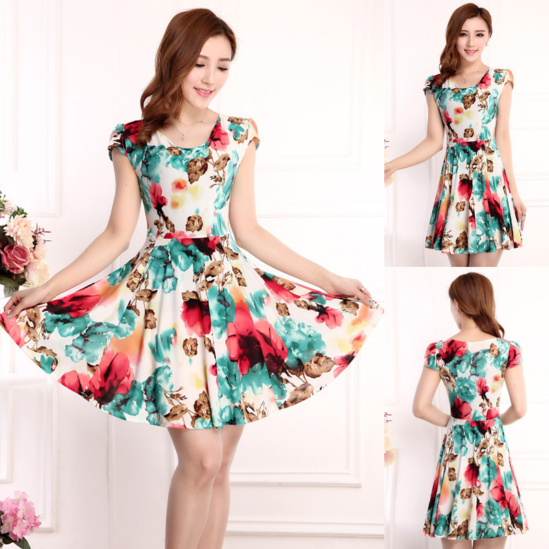 Plus Size Cotton Dresses Cheap 113