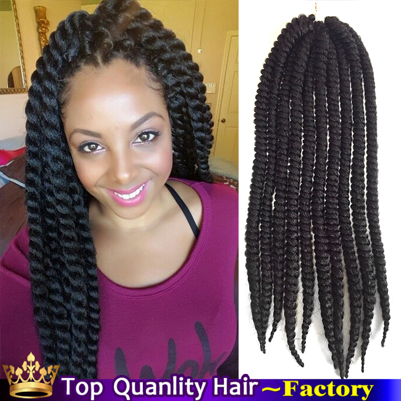 Nubi braiding hair Senegalese twist synthetic Ombre Box braids hair ...