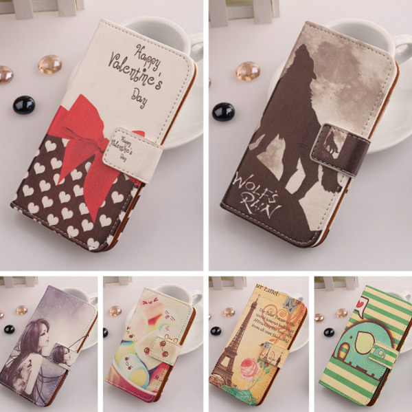 1X Accessory Hotsale Flip Specially Cute Design Protection PU Leather Cover Skin Case For Sony Live with Walkman WT19i(China (Mainland))