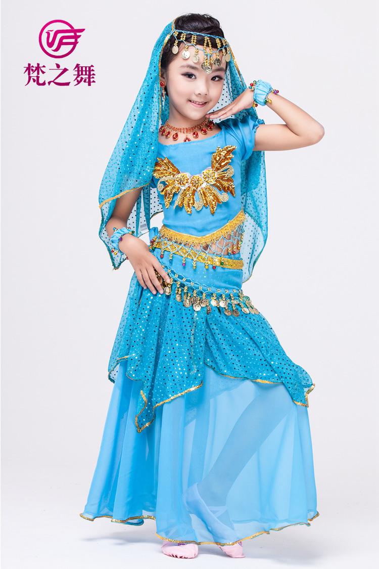 Индийское платье для девочки своими руками